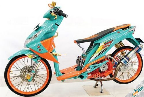 Modifikasi Motor Thailook Beat 02
