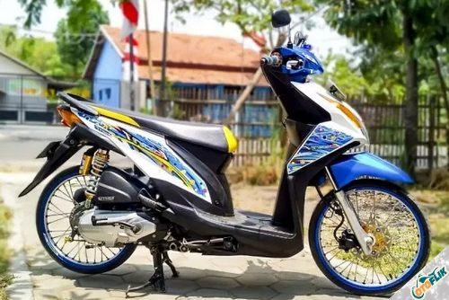 Modifikasi Motor Thailook Beat 06