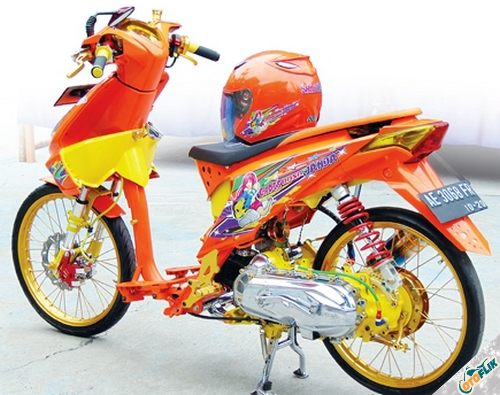 Modifikasi Motor Thailook Beat 07