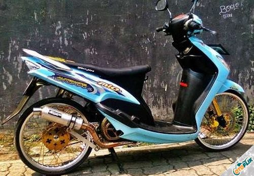 Modifikasi Motor Thailook Mio 02