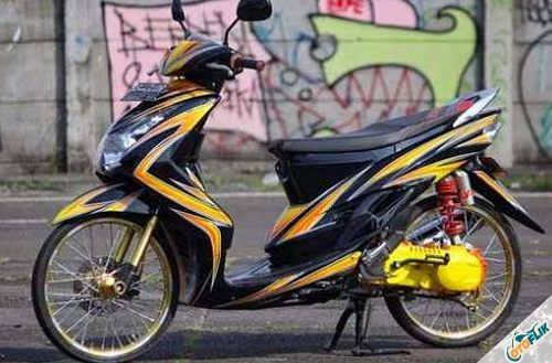 Modifikasi Motor Thailook Mio 03