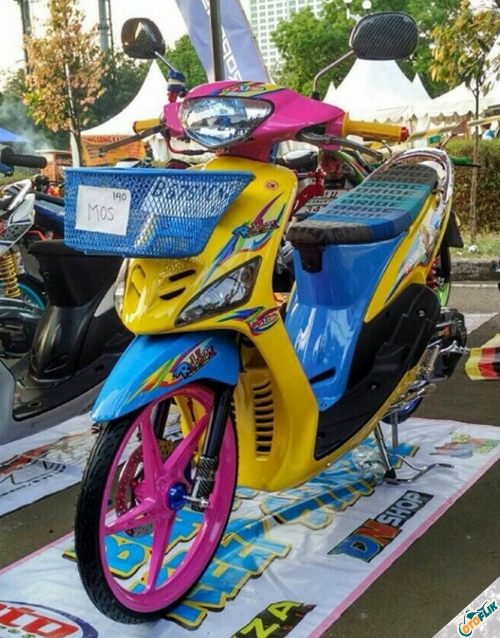 Modifikasi Motor Thailook Mio 05