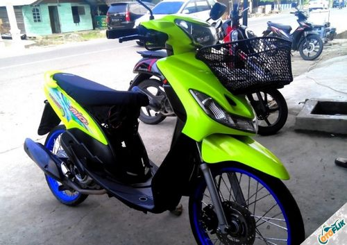 Modifikasi Motor Thailook Mio 06
