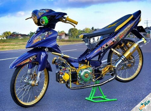 Modifikasi Motor Thailook Style 01