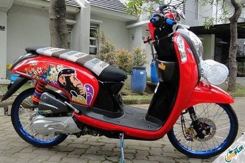 Modifikasi Motor Thailook Style 03