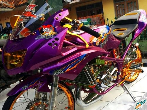 Modifikasi Motor Thailook Style 05