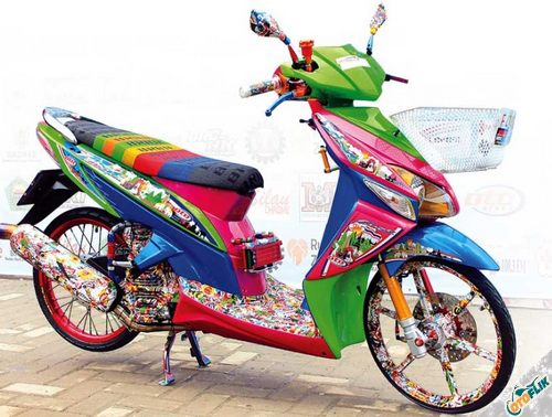 Modifikasi Motor Thailook Vario 03