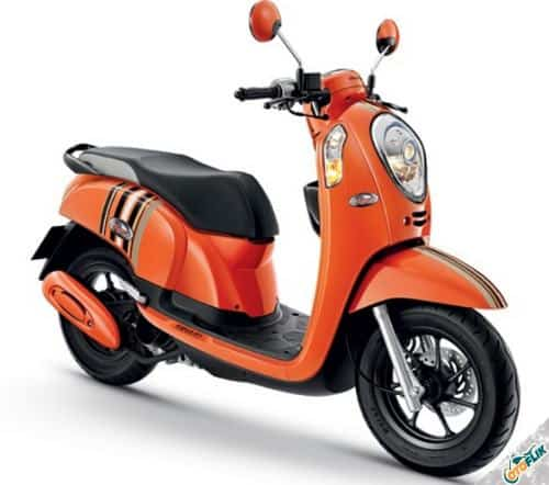 Modifikasi Motor Scoopy Simple 1