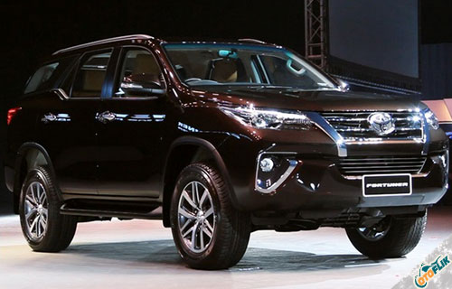 Desain All New Toyota Fortuner