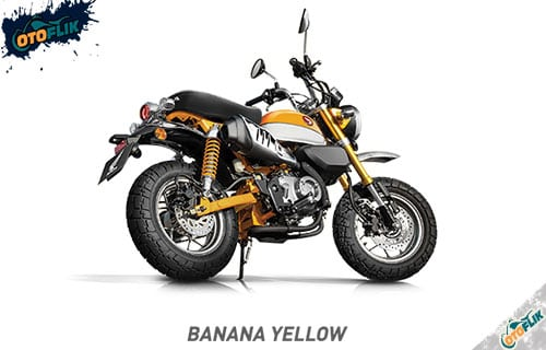 Honda Monkey Banana Yellow