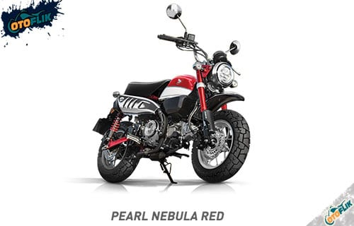 Honda Monkey Pearl Nebula RED