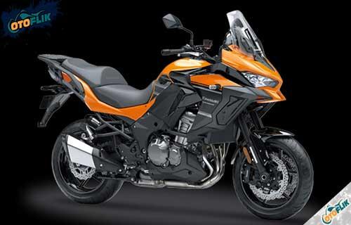 Kawasaki Versys 1000 Orange