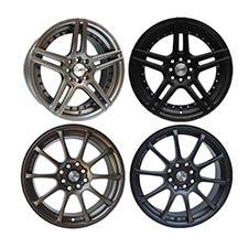 Ottoban Wheels A7000 Ring 14 Paket Velg Mobil
