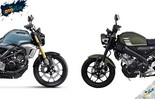 Perbedaan Yamaha XSR155 dan Honda CB150R Exmotion