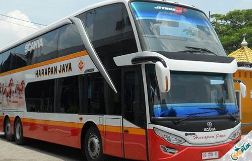 Bus Harapan Jaya dari PO. Harapan Jaya