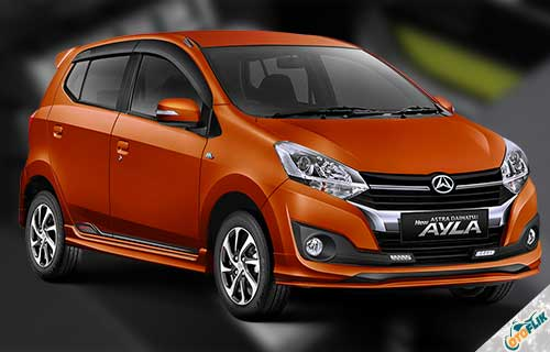 New Daihatsu Ayla 1.2 R AT