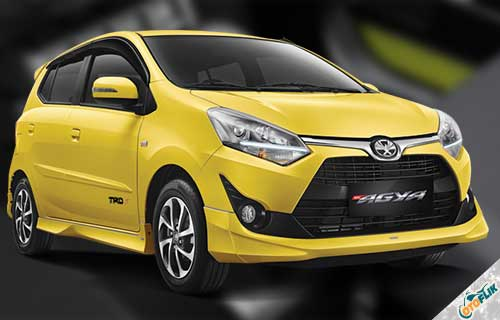 New Toyota Agya 1.2 AT TRD