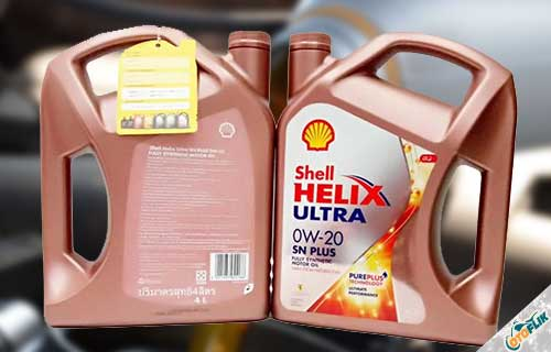 Shell 0W-20 Helix Ultra SN Plus