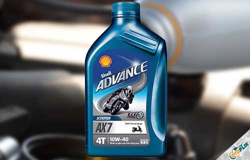 Shell Advance 4T AX7 SAE 10W40