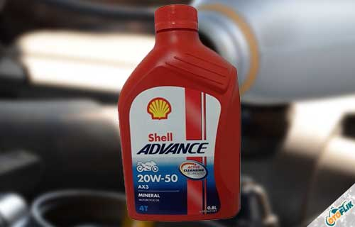 Shell Advance AX3 20W50