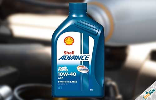 Shell Advance AX7 4T 10W-40