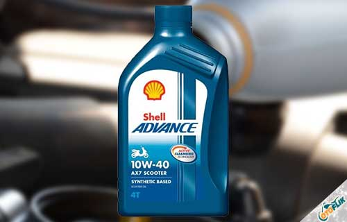Shell Advance AX7 Matic 10W-40 4T