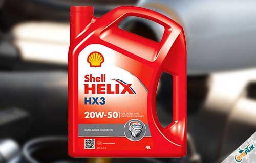 Shell Helix HX3 SAE 20W-50