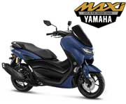 All New Yamaha Nmax Connected ABS Version Matte Blue