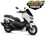 All New Yamaha Nmax Standard Version Glossy White
