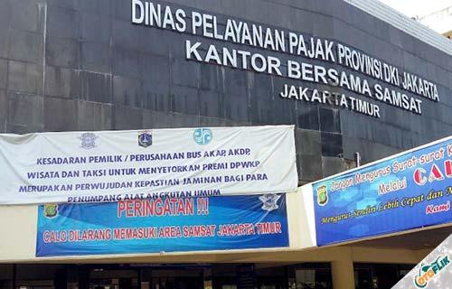 Cara Cek Plat Nomor Jakarta Online Semua Wilayah