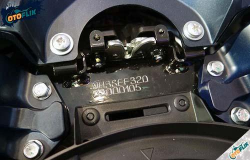 Cek Nomor Rangka dan Nomor Mesin