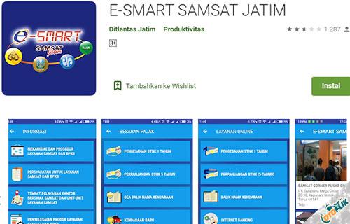 Cek Pajak Kendaraan Jatim Lewat Aplikasi Android