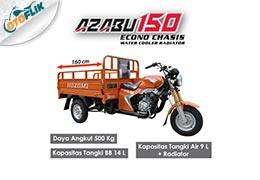Azabu 150 Econo Chasis Water Cooler Radiator