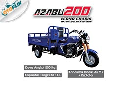Azabu 200 Econo Chasis Water Cooler Radiator