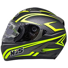 NJS Shadow R 810 Flat Visor