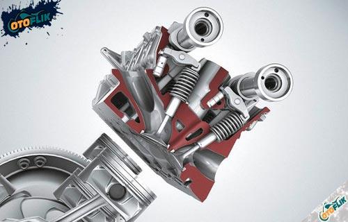 Komponen Kepala Silinder Motor 4 Tak