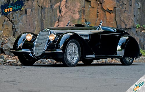 Alfa Romeo 8C 2900 B Lungo Spider 1939
