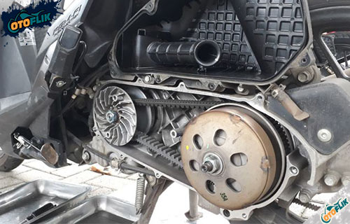 Kelebihan Sistem CVT pada Motor Matic