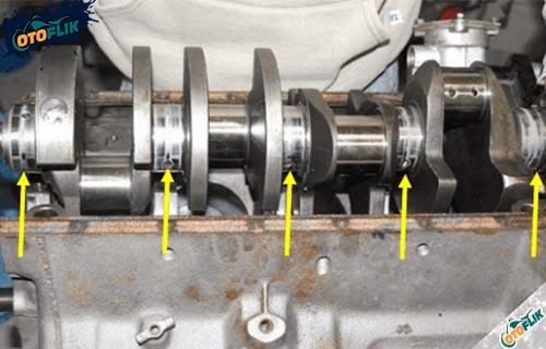 Main Bearing dan Conrod Bearing Aus