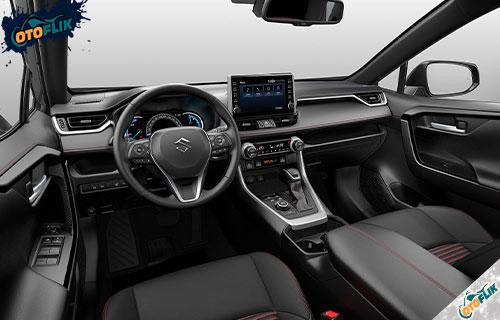 Desain Interior Suzuki Across