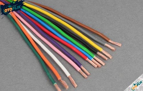 Kode Kabel 1 Warna