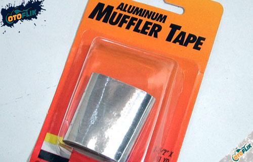 Menggunakan Aluminium Muffler