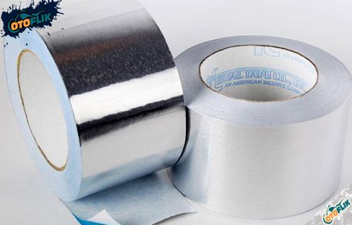 Menggunakan Seal Tape Aluminium