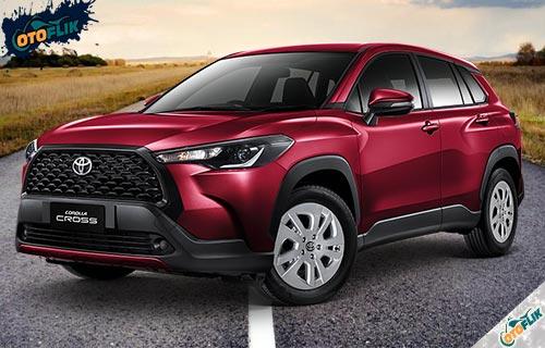 Toyota Corolla Cross Red Mica Metallic