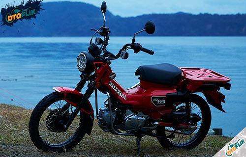 Desain Motor Honda CT 125