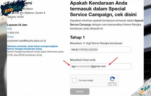 Masukan Alamat Email Aktif
