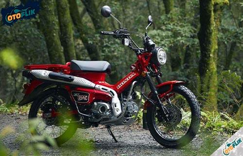 Motor Honda CT125 Glowing Red