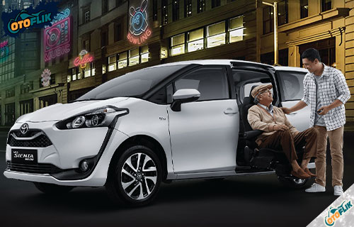 Review Spesifikasi dan Harga Toyota Sienta Welcab