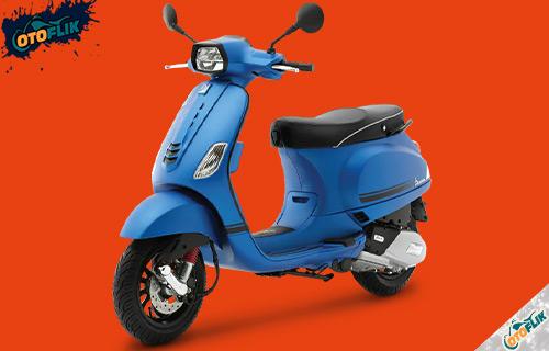 Vespa S 125 i Get Blue Vivace