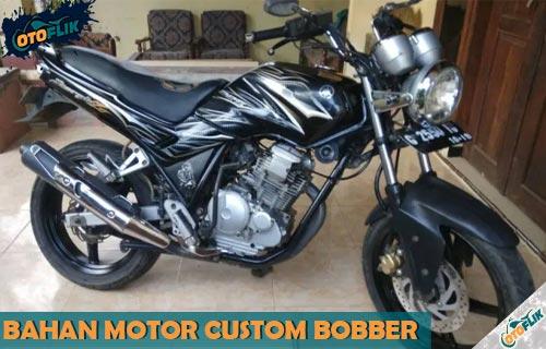 Bahan Motor Custom Bobber